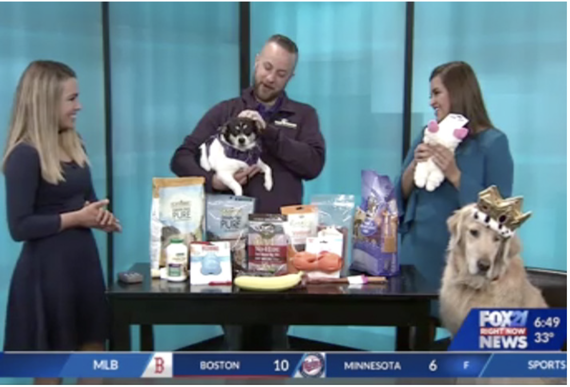 Wag N' Wash Featured on KXRM Fox21 for National Puppy Day